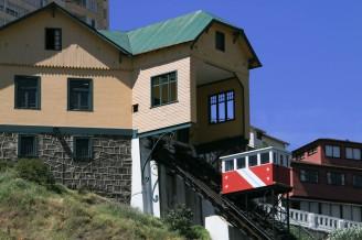 Aufzug zum Cerro Barón (© Lena Labryga / Weonlandia)
