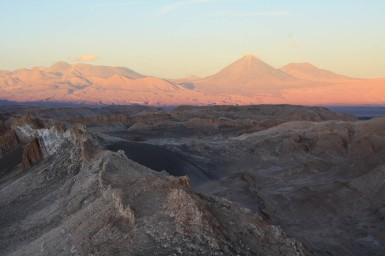 Sonnenuntergang im Valle de la Luna (© Lena Labryga / Weonlandia)