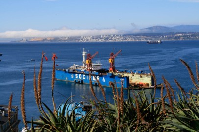 Hafen Valparaíso (© Lena Labryga / Weonlandia)