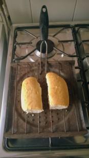 Toaster mit Marraqueta (© Lena Labryga / Weonlandia)