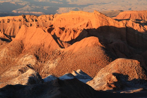 Sonnenuntergang in der Atacama Wüste (© Lena Labryga / Weonlandia)