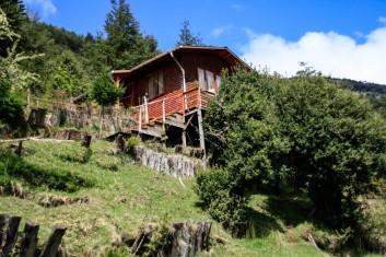 """Haus in der """"Chilenischen Schweiz"""" (© Lena Labryga / Weonlandia)"""