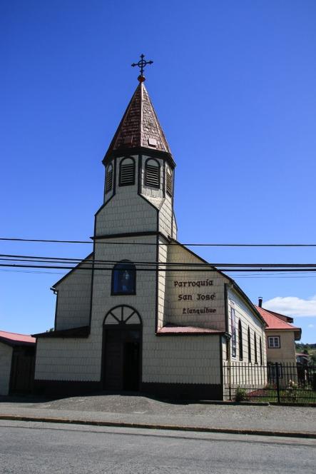 Kirche in Llanquihue (© Lena Labryga / Weonlandia)