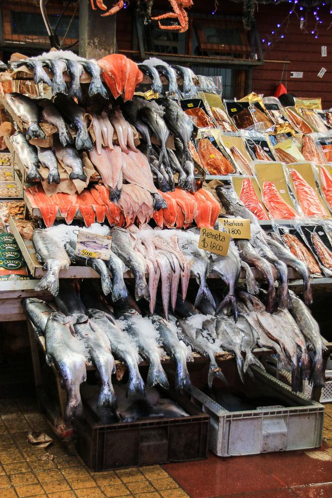 Auf dem Fischmarkt in Angelmó (© Lena Labryga / Weonlandia)