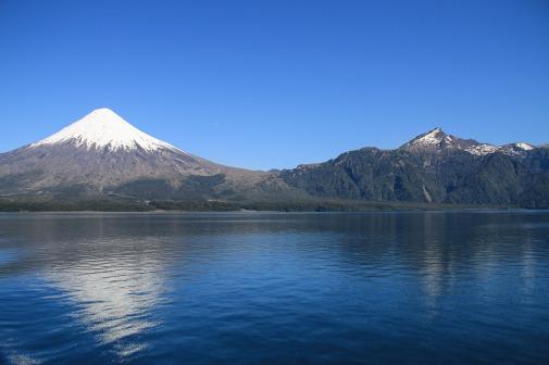 Vulkan Osorno vor dem Todos los Santos See (© Lena Labryga / Weonlandia)