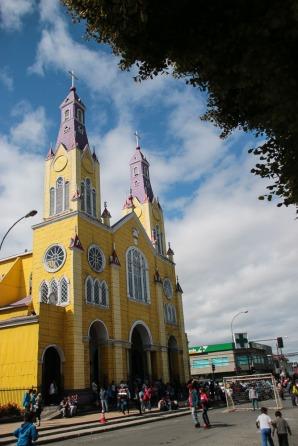 Kirche von Castro (© Lena Labryga / Weonlandia)