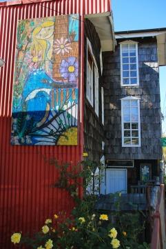 Wandbild in Castro (© Lena Labryga / Weonlandia)