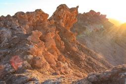 Sonnenuntergang in der Atacama (© Lena Labryga / Weonlandia)