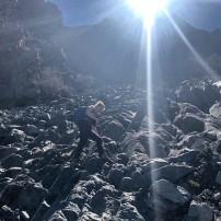Weg Bergspitze La Campana (© Lena Labryga / Weonlandia)